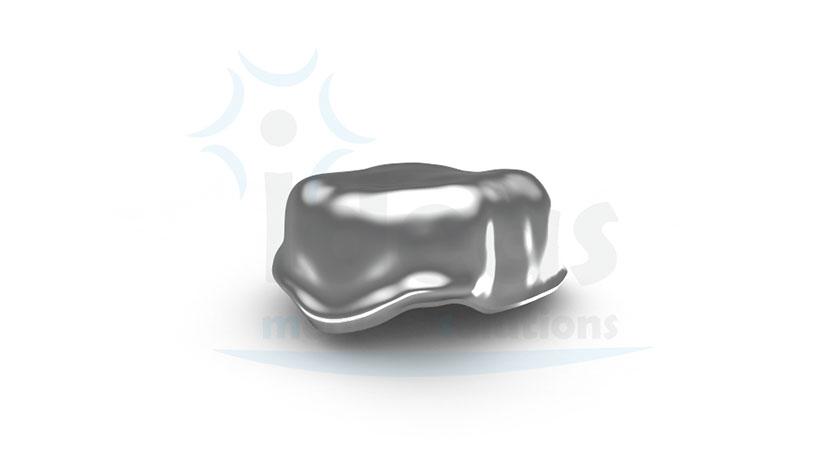Cofia cementada en Cromo Cobalto